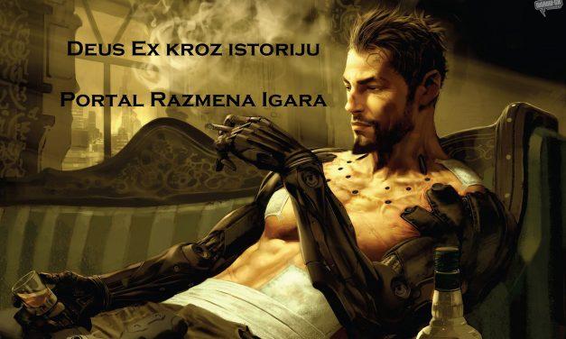 Istorijat Deus Ex serijala