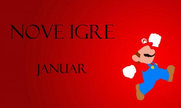 Nove igre – Januar 2017.  godine