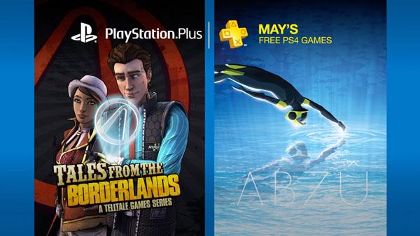 PS Plus besplatne igre za maj