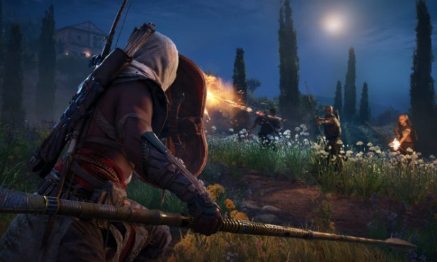 Assassin's Creed Origins borbeni gameplay