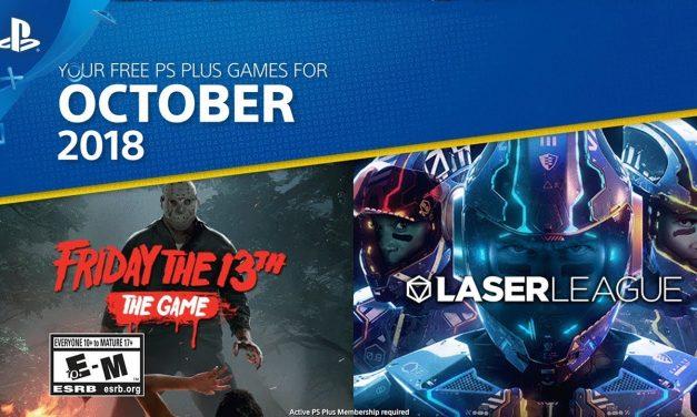 Playstation Plus igre za Oktobar