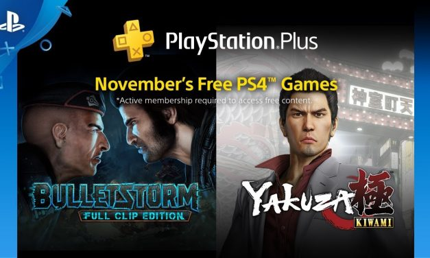 Playstation Plus igre za Novembar