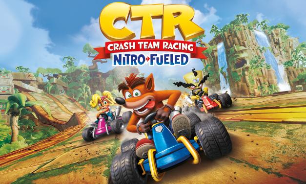 Crash Team Racing Nitro-Fueled novi gameplay